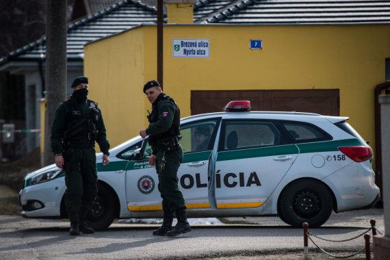 """AFP/""""Scanpix"""" nuotr./Jano Kuciako nužudymo vieta"""