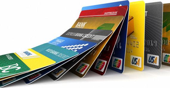 Fotolia nuotr./Banko kortelės