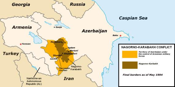 """Wikimedia Commons"" iliustr./Kalnų Karabachas"