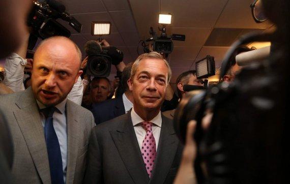 "AFP/""Scanpix"" nuotr./ Nigelas Farage'as"