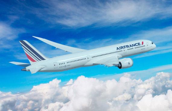 """Scanpix"" nuotr./Prancūzijos-Nyderlandų skrydžių bendrovės ""Air France-KLM"" kėltuvas"