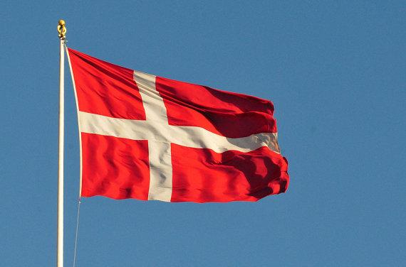 Andriaus Vaitkevičiaus / 15min nuotr./Danijos vėliava