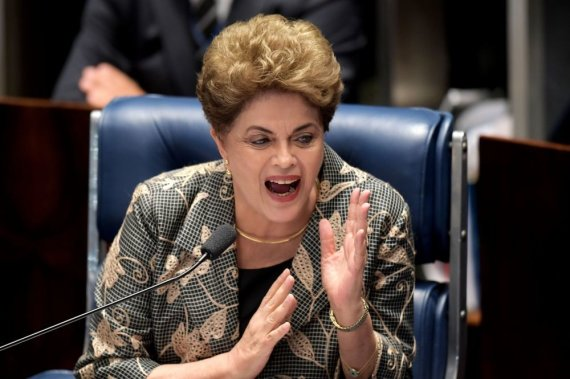 "AFP/""Scanpix"" nuotr./Dilma Rousseff"