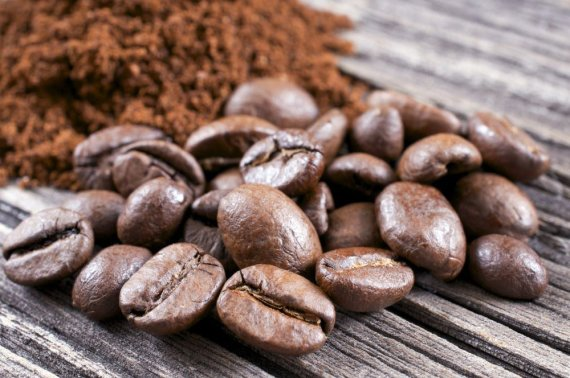 Fotolia nuotr./Kavos pupelės