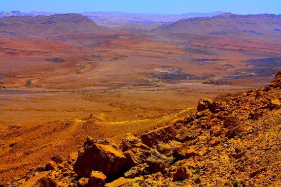 Shutterstock nuotr./Ramono krateris Negevo dykumoje