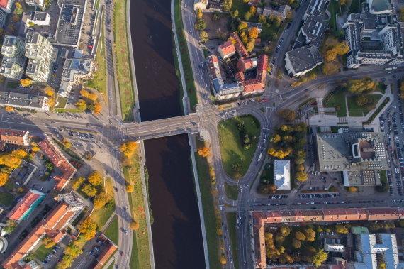 Vilniaus miesto savivaldybės/S.Žiūros nuotr./Žaliasis tiltas