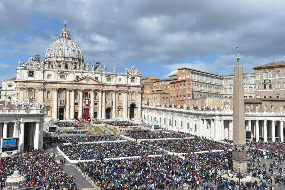 """AFP/""""Scanpix"""" nuotr./Šv. Petro aikštė Vatikane"""