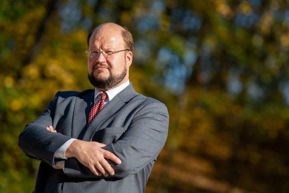 E.Blaževič/LRT nuotr./Psichikos sveikatos centro vadovas psichiatras Martynas Marcinkevičius