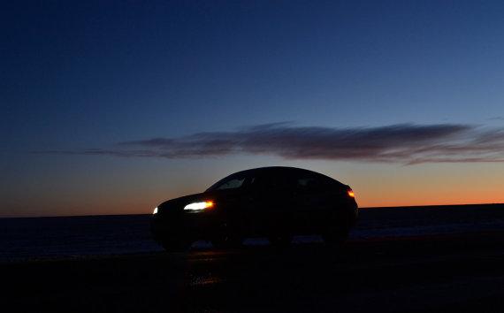 peasfalt.ro nuotr./BMW X6 ekspedicija į Laplandiją