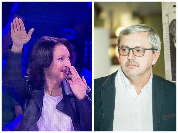 Stop kadras/15min ir Viganto Ovadnevo nuotr./Asta Baukutė ir Audrius Siaurusevičius