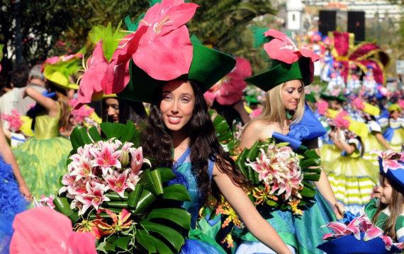 Madeiros turizmo centro nuotr./Madeiros gėlių festivalis
