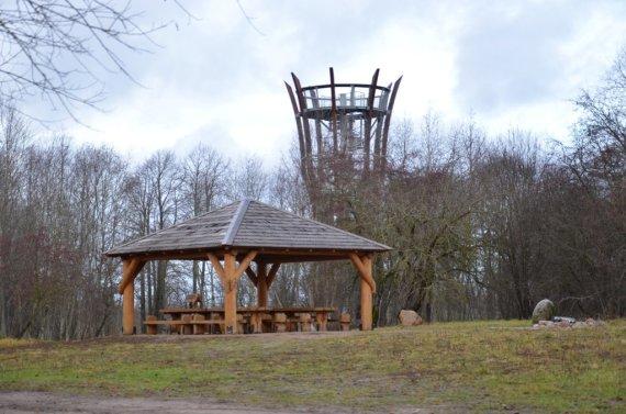 Ventos regioninio parko direkcijos nuotr./Ventos regioninio parko apžvalgos bokštas