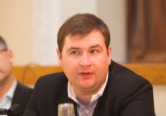 Irmanto Gelūno / 15min nuotr./Žurnalistas Tomas Dapkus