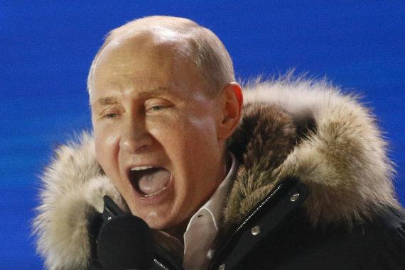 """""""Reuters""""/""""Scanpix"""" nuotr./Prezidento rinkimai Rusijoje"""