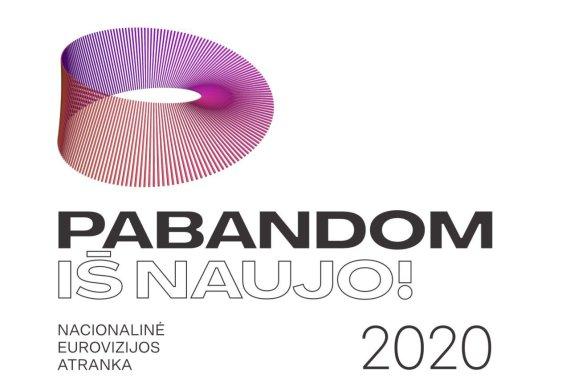 """LRT nuotr. /""""Eurovizijos"""" nacionalinės atrankos logotipas"""