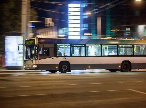 Sauliaus Žiūros nuotr./Autobusas Vilniuje