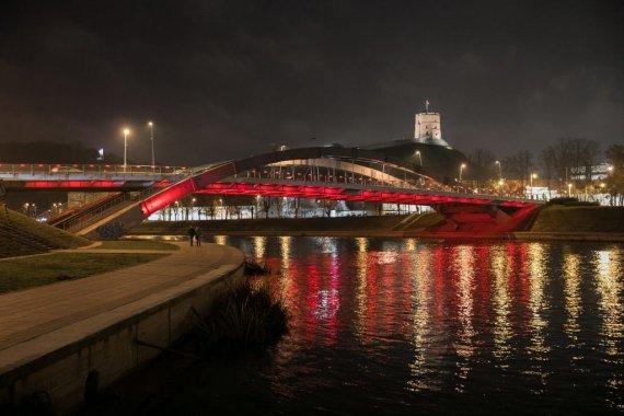 Vilniaus m. savivaldybės nuotr./Karaliaus Mindaugo tiltas