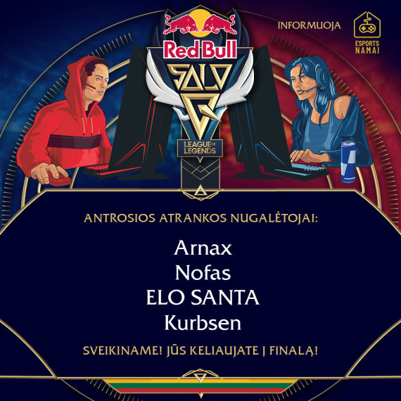 """Red Bull nuotr./""""Red Bull Solo Q"""""""