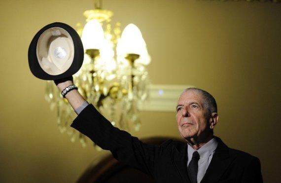 """""""Reuters""""/""""Scanpix"""" nuotr./Leonardas Cohenas mirė eidamas 83-ius gyvenimo metus"""