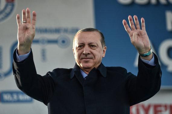 "AFP/""Scanpix"" nuotr./Recepas Tayyipas Erdoganas"