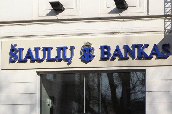 Eriko Ovčarenko / 15min nuotr./Šiaulių banko skyrius Kaune