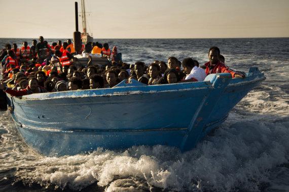 "AFP/""Scanpix"" nuotr./Migrantai iš Eritrėjos"