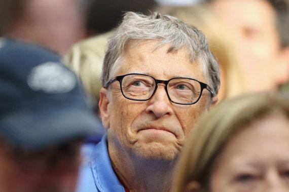 "AFP/""Scanpix"" nuotr./Milijardierius Billas Gatesas"