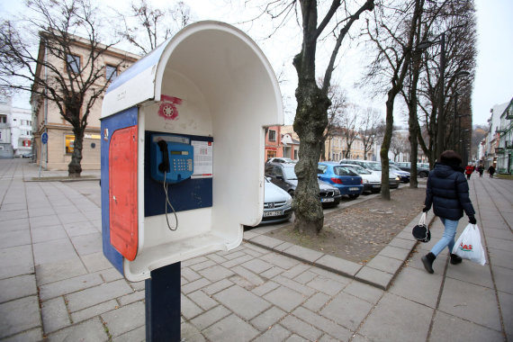 Eriko Ovčarenko / 15min nuotr./Taksofonas