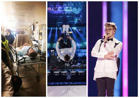 """Andres Putting, asmeninio albumo nuotr./Čekijos atstovas """"Eurovizijoje"""" Mikolas Josefas"""
