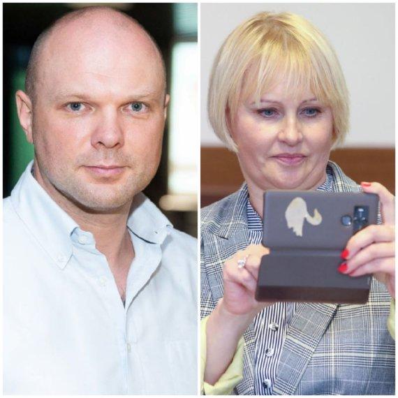 15min koliažas/K.Krivickas ir R.Janutienė
