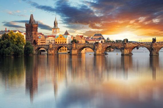 """""""Fotolia"""" nuotr./Karolio tiltas Prahoje"""
