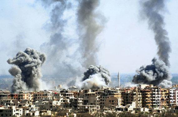 """""""Scanpix""""/""""Sipa USA"""" nuotr./Sirijos karas"""