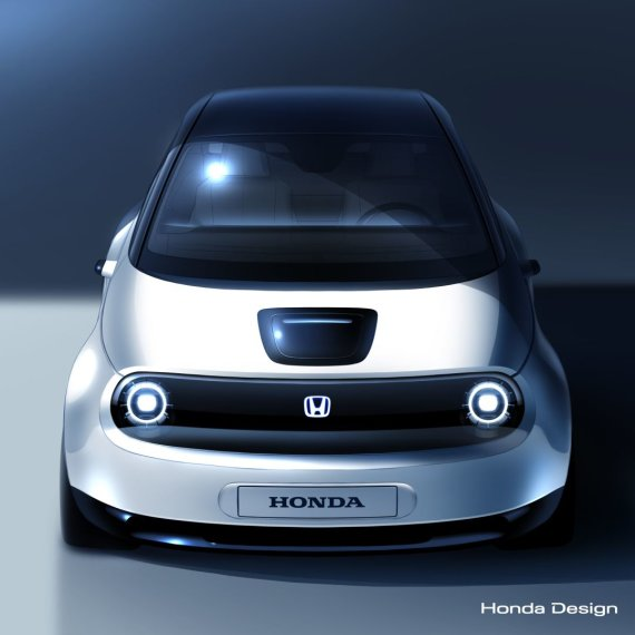 "Gamintojo nuotr./""Honda Urban EV"""