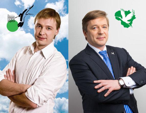 lvzs.lt ir TV3 nuotr./Aurimas Žvinys ir Ramūnas Karbauskis