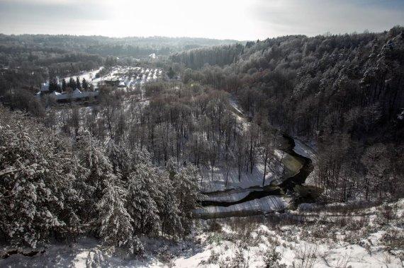 Irmanto Gelūno / 15min nuotr./Balta žiema sostinėje