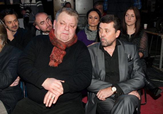 Gretos Skaraitienės/Žmonės.lt nuotr./Arūnas Storpirštis ir Vytautas Šapranauskas