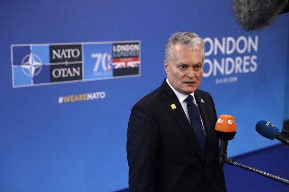 """""""Scanpix""""/AP nuotr./Gitanas Nausėda"""