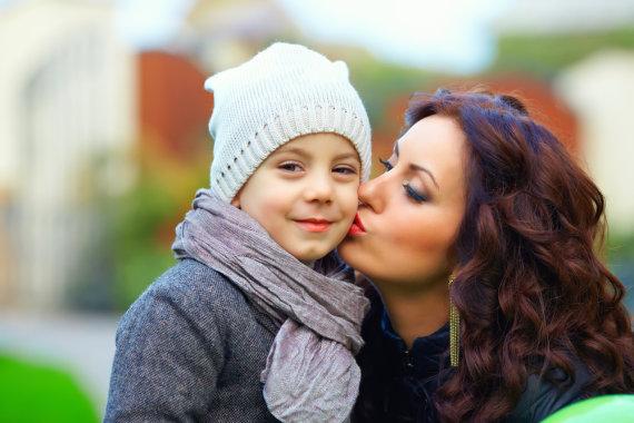 Shutterstock nuotr./Mama su vaiku
