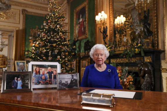 """""""Scanpix""""/AP nuotr./Elizabeth II"""