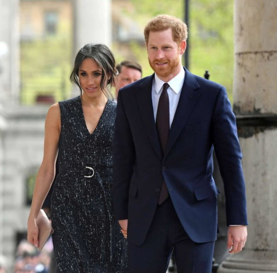 """Reuters""/""Scanpix"" nuotr./Meghan Markle ir princas Harry"