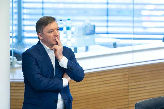 Žygimanto Gedvilos / 15min nuotr./Rytinis Seimo posėdis