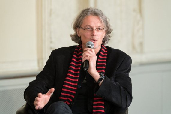 Rainerio Justeno nuotr./Poetas, eseistas Eugenijus Ališanka