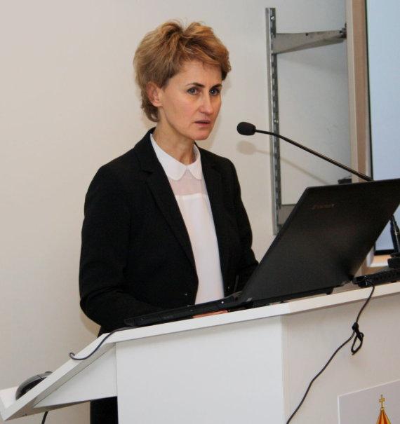Generalinės prokuratūros nuotr./Panevėžio apygardos prokuratūros vyriausioji prokurorė Nida Grunskienė