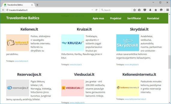 """""""Travelonline Baltics"""" valdo 9 portalus, kuriuose prekiaujama kelionėmis"""