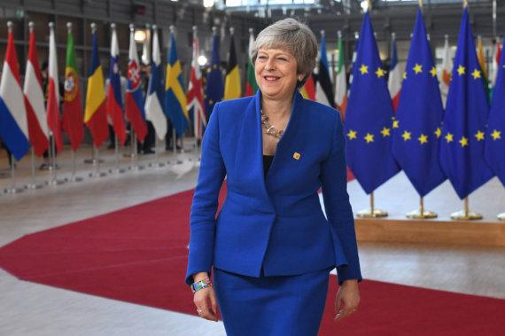 """Scanpix""/""PA Wire""/""Press Association Images"" nuotr./Theresa May"