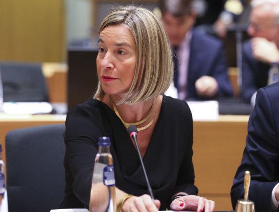 """Scanpix""/""SIPA"" nuotr./Federica Mogherini"