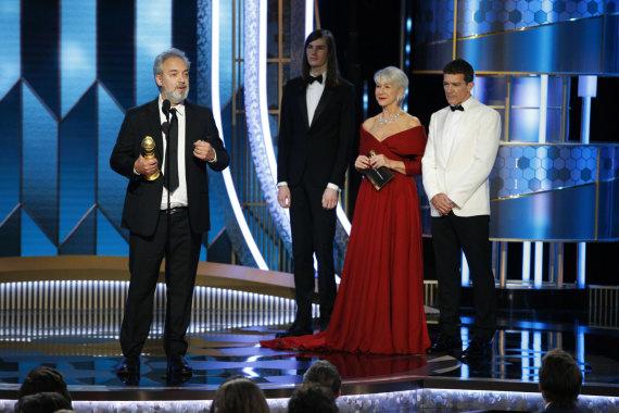 """Vida Press nuotr./2020 metų """"Auksinių gaublių"""" įteikimo ceremonijos akimirkos"""