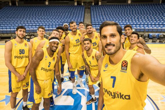 Getty Images/Euroleague.net nuotr./Omri Casspi ir Tel Avivo Maccabi