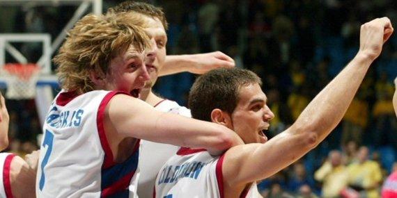 Getty Images/Euroleague.net nuotr./Arvydas Macijauskas 2005 m.