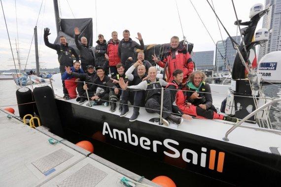 """Monikos Svėrytės nuotr./""""Ambersail2"""" lenktynės Baltijos jūroje"""